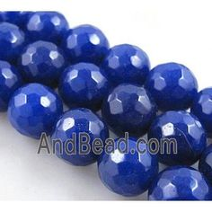 Quartzite stone bead, stability, faceted round, lazuline dia, approx per st Jade Beads, Stone Beads, Stability