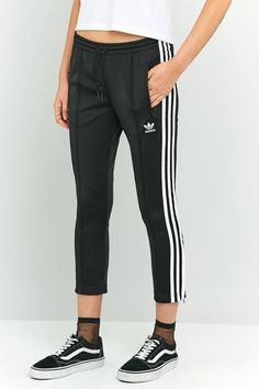 Slide View  2  adidas Originals 3-Stripe Cigarette Track Pants a6b9a0fe99e