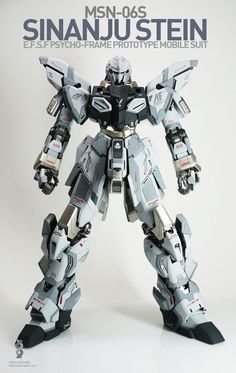 MG 1/100 Sinanju Stein - Painted Build     Modeled by Team Sangsang