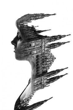 Visages et architecture milanaises visage archi 01 500x750