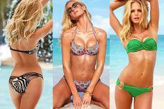 Erin Heatherton Looks Three Times as Great in her Victoria's Secret Bikinis.  - Hot Celebrity Photos