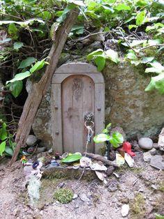 Fairy Door on Mt. Erskine, Salt Spring Island, BC