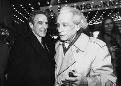 John Cassavetes and Sam Fuller in Berlin, 1984.