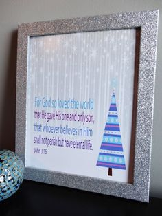 Inspirational Print - Christmas  MDesignCompany.  Buy Today:  etsy.com/shop/MDesignCompany