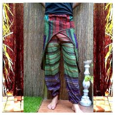 harem pants MEN sarouel aladdin pants yoga sarouel by coconutpunch, ₪69.90