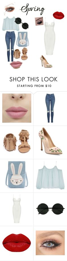 Day to Night by bebee105 on Polyvore featuring Posh Girl, Elizabeth and James, Topshop, Giambattista Valli, Qupid and Winky Lux