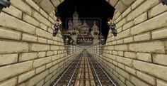 Minecraft Railway System