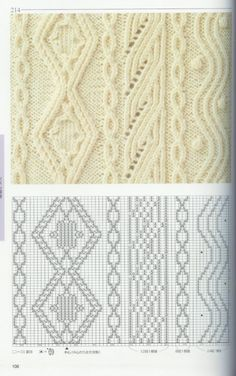 "diy_crafts-beautiful knitting patterns - chart: ""Lace/Cable Chart to Try knitting patterns collection mintagyüjtemény"", ""Lace/Cable Tutorial f Knitting Stiches, Cable Knitting, Knitting Charts, Crochet Stitches, Hand Knitting, Knitting Patterns, Crochet Patterns, Knitting Designs, Knitting Projects"