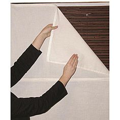 @Overstock - This white Radiance privacy window liner can be added to your existing window covering for increased private and energy efficiency. The liner installs in mere minutes and can be easily raised or lowered with the shade depending on your needs.http://www.overstock.com/Home-Garden/White-Privacy-Liner-34-in.-x-72-in./6220371/product.html?CID=214117 $18.59