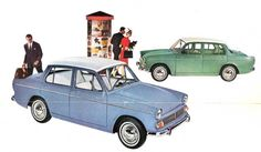 My first car, but mine was the '66 model. 1963 Hillman Minx 1600.   I always loved that it was called a minx...