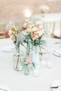 Uban Chic Chicago Loft Wedding - Style Me Pretty