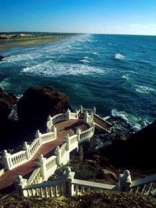 Tangier - Morocco/fantastic view of the restaurant Le Mirage.