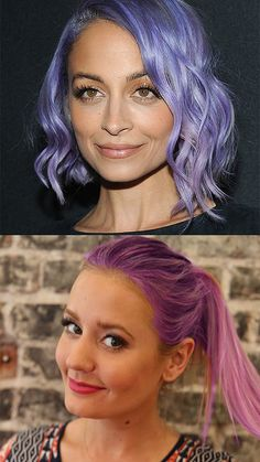 Nicole Richie's hair colorist reveals the tricks to getting gorgeous pastel color, plus how to take care of it at home