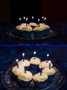 Sugar free chocolate cupcakes with sugar free vanilla icing - World Diabetes Day tribute