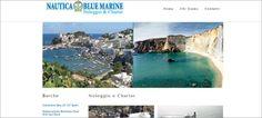 Realizzazione Sito Web per Noleggio Blue Marine  www.noleggiobluemarine.it
