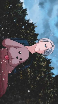 Browse Yuri on Ice collected by SerenaOda and make your own Anime album. Wallpaper Animes, Cute Anime Wallpaper, Wallpaper Pc, Animes Wallpapers, Cute Wallpapers, All Anime, Anime Guys, Manga Anime, Anime Art