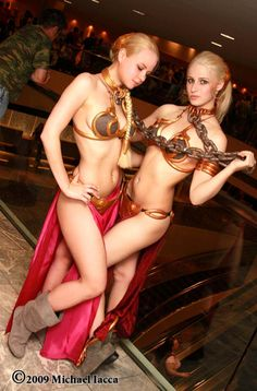 #Cosplay I would love to pull off this outfit. Slave Leia, Star Wars