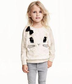 Pile-front Sweatshirt | H&M US