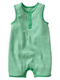 Stripe tank one-piece
