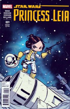 Princess Leia #1 May 2015 Skottie Young Cover When Princess Leia Organa was captured by the Empire as a Rebel spy, she never betrayed her convictions, even in the face of the complete destruction of her home world, Alderaan. When her rescue came, she grabbed a blaster and joined the fight, escaping back to the Rebel Alliance and helping strike the biggest blow against the Empire-the destruction of the Death Star. But in the aftermath of that victory, the question remains...what is a princess…