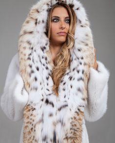 Totally awesome lynx fur coat! planetamexa.su