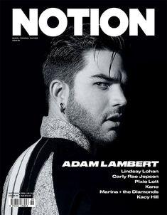 Adam Lambert Covers Notion, Talks Personal Style + New Album