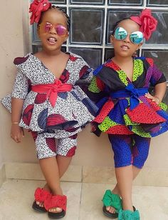 African wear dresses for kids Source by The post African wear dresses for kids – African Fashion Dresses appeared first on 2019 Trends. Baby African Clothes, African Dresses For Kids, African Wear Dresses, African Children, Latest African Fashion Dresses, African Print Fashion, African Attire, Ankara Fashion, African Dress Styles