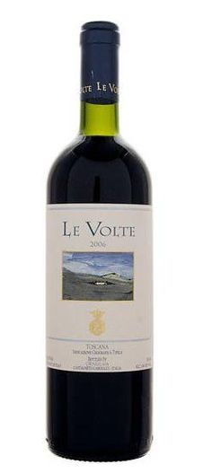 Tenuta dell' Ornellaia Le Volte. Gemaakt van de Sangiovese, Merlot, Cabernet Sauvignon druif. Hints van kers en rood fruit. Heerlijk bij pasta en roodvlees gerechten, vooral bij lam.