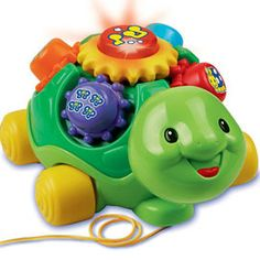 Just found amazing new website MassGenie. Price drops when you Crowd shop. $12.99, Save 48%. Your toddler is sure to have tons of learning fun with the Vtech Roll & Learn Turtle. The turtle's shell is covered with colorful gears, and when you spin them, #baby #toddler #moms #toys #babytoys