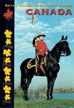 Postcard from Canada ~ Royal Canadian Mounted Police ~ La gendarmerie royal du Canada www.postcrossing.com