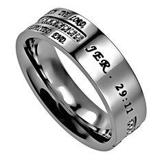 Spirit & Truth 'I Know' - Women's Crescent Ring - SG3733 | SonGear.com