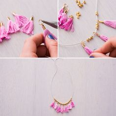 You can totally DIY this adorable necklace.