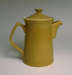 CROWN LYNN MID CENTURY COFFEE POT, cook and serve range