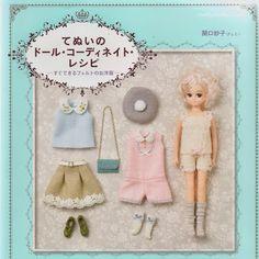 Doll Coordinate Recipe Felt / Fieltro (169 photos)