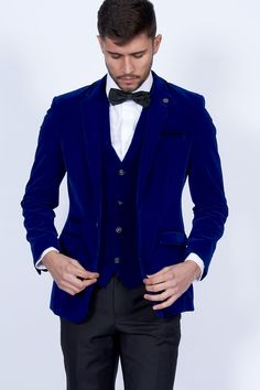 1f91b6778e5f Velvet Blazer | Luxury | Menswear | Party wear | Marc Darcy Velvet Blazer,  Blazers