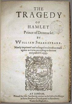 """Hamlet"" by Shakespeare"