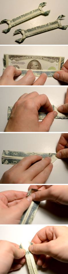 Money Wrench Origami | Christmas Gifts for Boyfriend DIY Cute