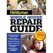 Family Handyman Whole House Repair Guide : Over 300 Step-By-Step Repairs! , by Collier, Ken; Wentz, Gary; Arginteanu, Judy (CON); Bierbach, Donna (CON)  Cover: Paperback Copyright: 3/7/2013  The Family Handyman's Whole House Repair Guidegives readers the know-how and confidence to tackle repair jobs, save money and avoid the hassles of service calls. $14.98  http://www.biggerbooks.com/?AID=9342541=7025473=3936421=bbcj
