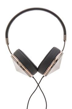FRENDS Taylor Headphones in Gunmetal Rose & Black