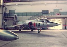JASDF F104 hangar