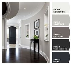 TRISTAN'S ROOM GRAY TAUPE PAINT COLORS INTERIOR PAINT COLOR COMBOS   Sherwin-Williams by Shopway2much