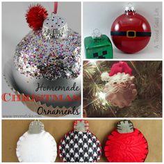 Easy DIY Christmas Ornaments!