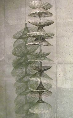 Ruth Asawa - Hanging wire mesh sculpture