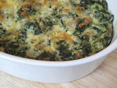 Cheesy Greens Casserole