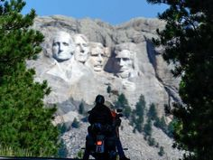 Take advantage of the scenic beauty as you travel through South Dakota and check out our favorite riding routes during the 2017 Sturgis Motorcycle Rally. Sturgis Motorcycle Rally, Motorcycle Rallies, Bike Life, Mount Rushmore, South Dakota, Travel, Vacations, Check, Beauty