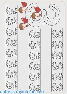 Pre-School Numbers Line Studies (New) - Preschool Children Akctivitiys Pre K Worksheets, Kindergarten Math Worksheets, Writing Worksheets, Preschool Writing, Numbers Preschool, Writing Numbers, Math Numbers, Math Games, Preschool Activities