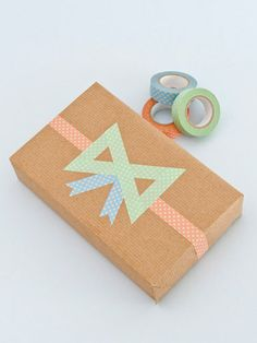 Washi tape bow #diy