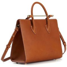 99185ac56a4 Strathberry Midi Tote in Tan Bridle Leather - Meghan Markle s Handbags