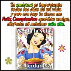 Comics, Friends, Happy, Frases, Happy Bday Wishes, Happiness, Poems, Amigos, Ser Feliz