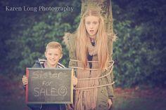 brother & sister, sibling, teenage, photo shoot, outdoors, natural lighting, fun